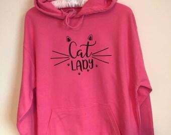Cat Lady hoodie