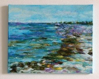 The painting Sea,oil on canvas,original painting,art paintings, oil painting,oil Sea,painting Sea,art paintings Sea