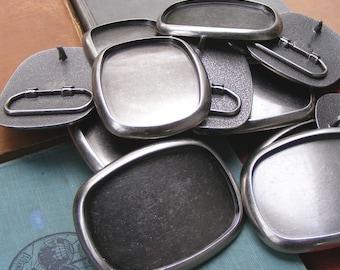 5 Belt Buckle Blanks
