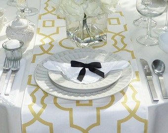 Choose your Table Runner, Yellow Table Runner - Yellow Wedding Linens - Yellow Table Topper - Bordeaux Yellow Table Runner