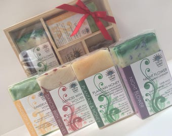 FOR HER, Handcrafted Soap Collection with Moisturizing Shea Butter, Soap for Her, Gift for Her, Shea Butter Soap, Gift for Her, Gift