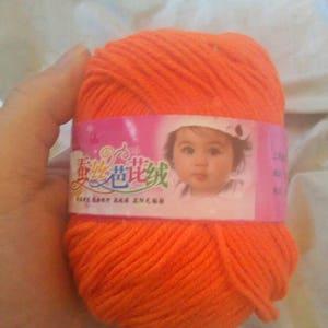 Worsted Silk Wool Cashmere Skein Yarn