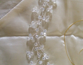 Bridal Crystal Hair Vine