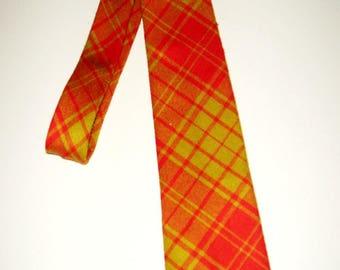 Vintage Men's Scotland Macmillan New Wool Plaid Neck Tie