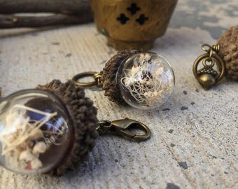 Acorns & Alchemy: Acorn Globe Stitch Markers for Knitters and Crocheters