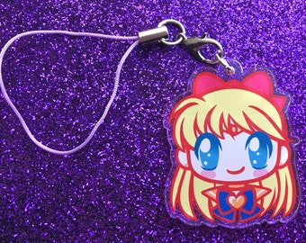 "Sailor Venus 1.5"" Charm or Keychain"