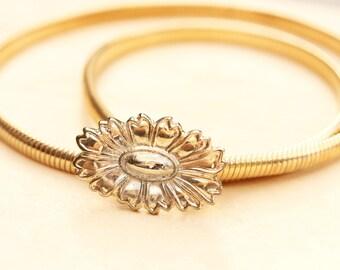 Flower Coil Belt - Small
