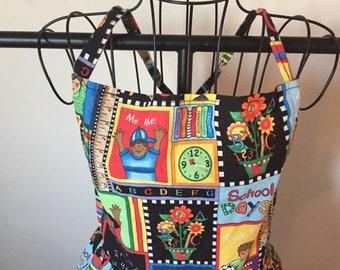 Custom Fabric Apron
