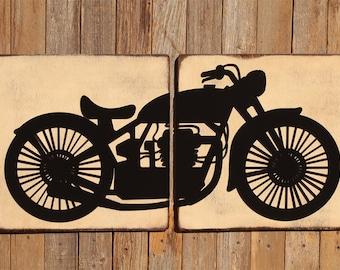Harley Davidson Harley Motorcycle Indian Motorcycle Motorbike Decor Motorcycle Decor Motorbike Gift Motorcycle Gift Him Motorcycle Signs