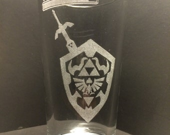 Legend of Zelda Glass