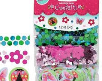 Garden Girl Confetti Value Pack (3 types)