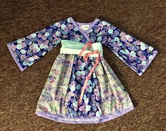 3T Modern Kimono Dress Tunic