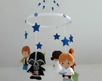 Baby Star Wars hanging mobile