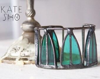 Emerald bracelet cuff, boho bracelet, gypsy bracelet, bracelet cuff, gypsy bracelet, hippie bracelet, boho chic bracelet, bohemian bracelet