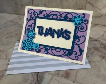 Blank Thank You Cards (Set of 5)