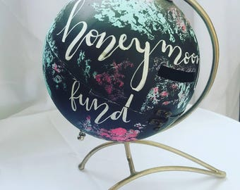Painted Travel Fund Globe