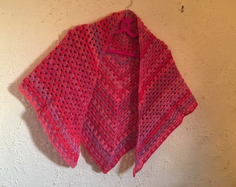 Triangle Crochet Scarf/Shawl