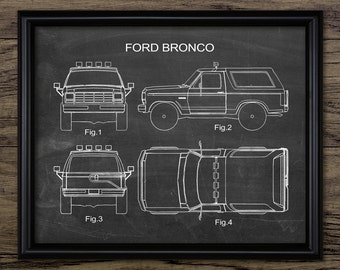 Classic American SUV Car Print - Car Design - Automobile - Garage Wall Art - Garage Mechanic - Single Print #836 - INSTANT DOWNLOAD