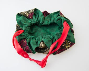 Poinsettia Chrysanthemum Bag