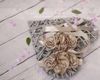 Layered Petal Flower Sash, Satin Flower Sash, Satin Flower Belt, Flower Girl Sash, Flower Girl Belt, Bridal Sash, Bridal Belt, Wedding Sash