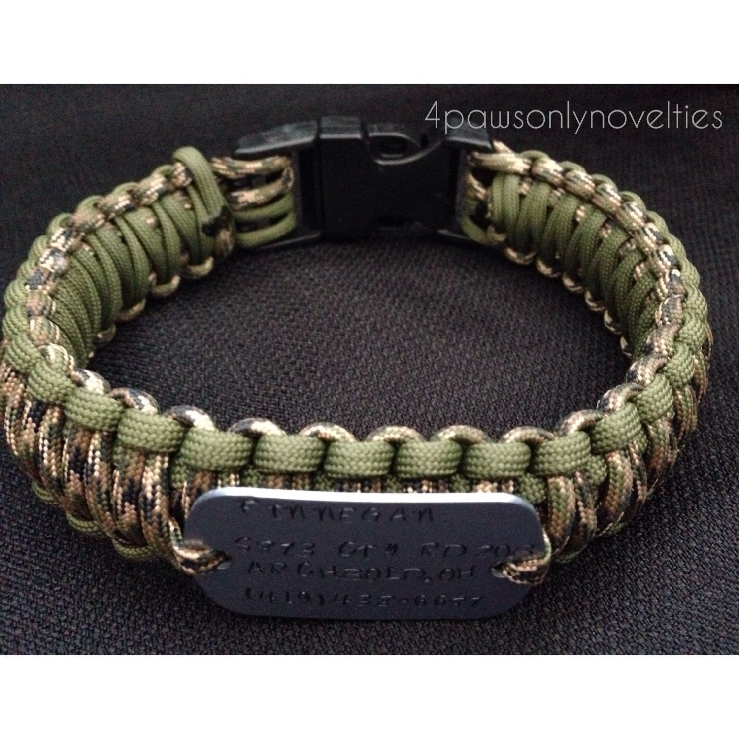 How To Make An Adjustable Paracord Dog Collar Metal Buckle