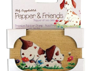 Stamps wood pepper & friends playtime recreation - 002011