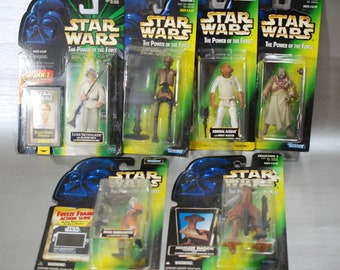 Star Wars Action Figures from the Power of the Force Series by Kenner