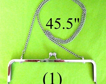 45.5 inch shoulder length nickel-free purse chain(TM)