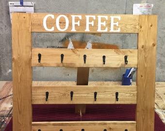Coffee Mug Display