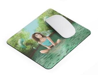 Modern Water Nymph Mousepad