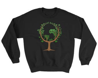 Happy Earth Day 2018 Sweatshirt Gift - Save The Earth Sweatshirt - Go Green Shirt - Earth Day April 22 Sweatshirt for women, men and kids