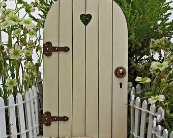 Fairy Door wooden COMES with TINY KEY