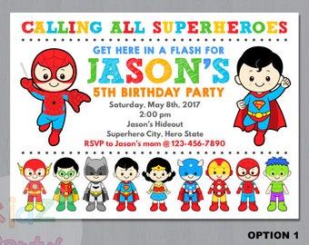 Superhero Invitation, Avenger Invitation, Superhero Avenger, Superhero Party, Superhero Invite, Avenger Birthday Party, Superhero Birthday