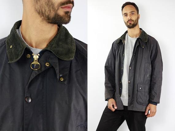 BARBOUR Bedale Coat Wax Coat Barbour Wax Jacket Barbour Blue Barbour Coat Parka Blue Coat BARBOUR Wax Jacket Wax Coat Barbour Bedale Jacket
