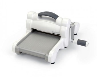 Sizzix 660425 Big Shot Cutting/Embossing Maching, White and Grey