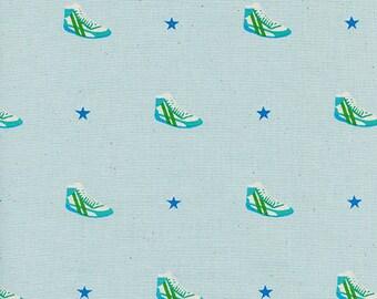 Cotton + Steel Kicks - little kicks aqua - 50cm