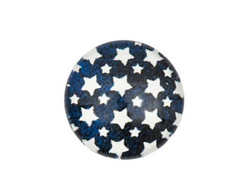 Cabochon with ' asterisk ' pattern for gluing-12mm