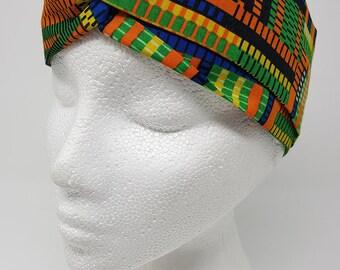 African print turban style headband/head band/hairband/hair band/turband