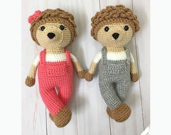 Amigurumi Hedgehog Pattern - PDF Crochet Pattern - Instant Download