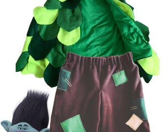Branch Troll Costumes for kids