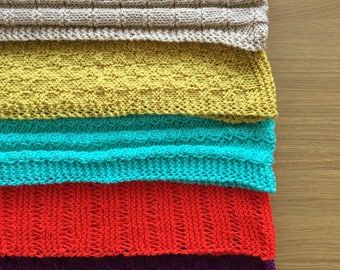 Hand-Knitted Cowls / Snoods