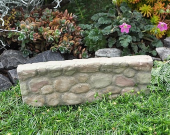 Stone Wall for Miniature Garden, Fairy Garden