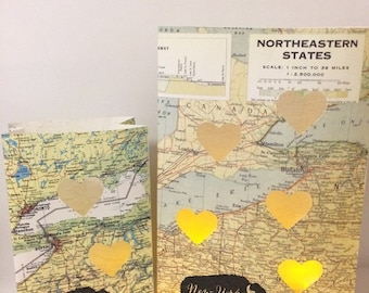 Buffalo NY Luminary Set, Buffalo Luminary Bags, Buffalo NY Map, Buffalo Wedding, Buffalo Gift, Buffalo Map, City of Buffalo, Buffalo Art