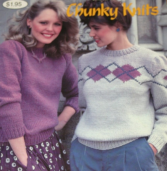 Sweater Knitting Patterns Chunky Knits Beehive Patons 447 Cardigan ...