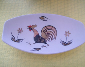 PY Ceramic Rooster Dish Ceramic Vintage. Price Includes Shipping.