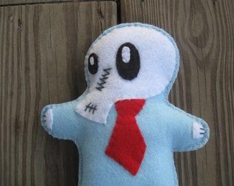 Corporate Skullhead Mr. Business Man doll