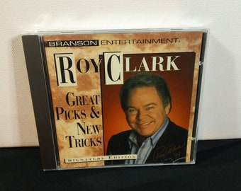 Roy Clark - Great Picks & New Tricks - BRD 9302 - audio cd, album (Branson Entertainment/Intersound,1993) Country music compact disc