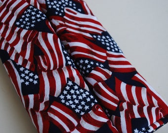 seatbelt covers car 1 pair American Flag  pattern