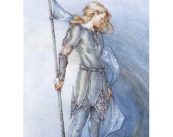 Gil-galad was an Elvenking - facsimile print