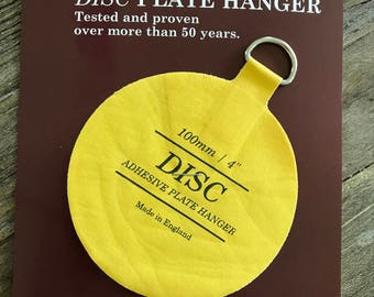 4  Invisible plate hanger & Extra Small Plate Hangers Set of Two (2) - Invisible Disc - 1-1/4 ...